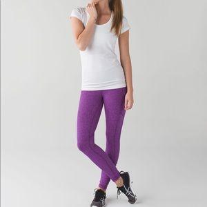 New Lululemon Speed Tight lV Rulu violet pants 8